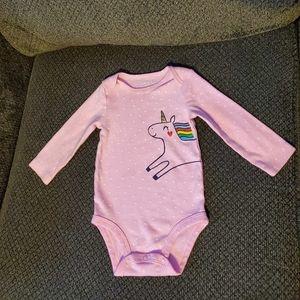 Carters unicorn onesie
